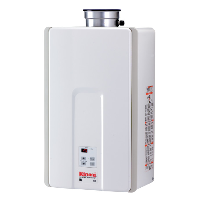 V94in Tankless Water Heater Rinnai