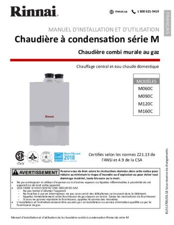 M120CN Boiler | Rinnai
